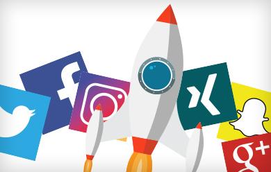 Bild Social Media Icons
