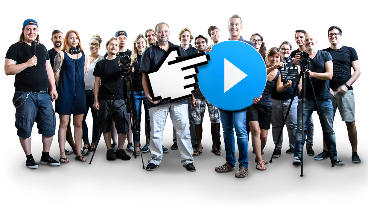 Gruppenbild Jobsaround.tv